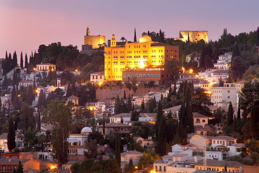 Imagen de la fachada del H-Alhambra Palace